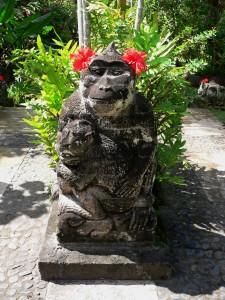 Ubud, Bali, Indonesia monkey statue
