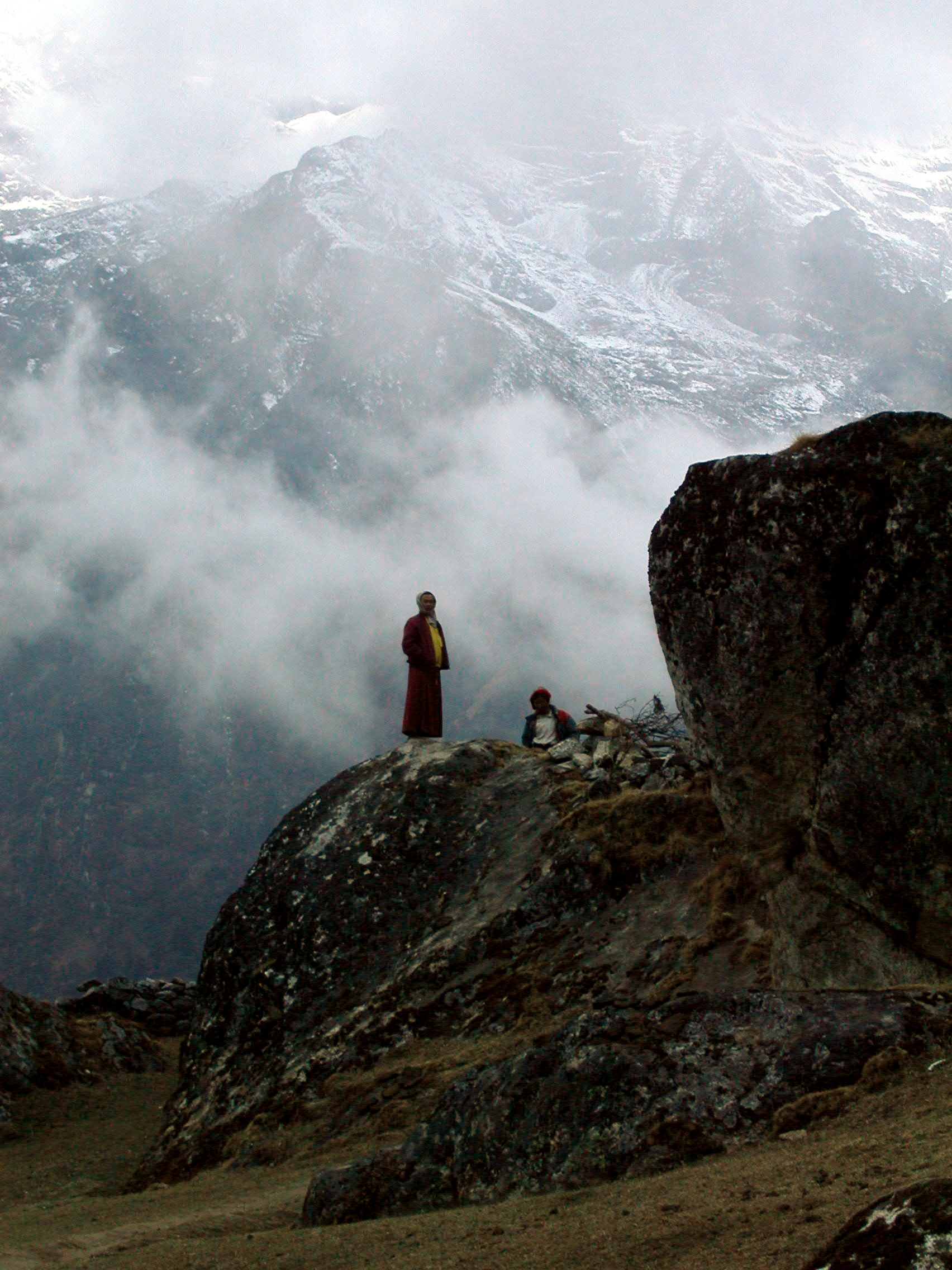 Himalayan Monk
