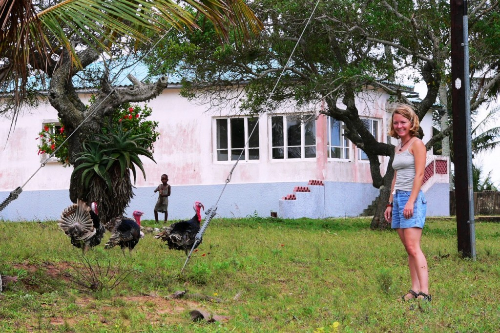 Spending Thanksgiving with Turkeys in Africa