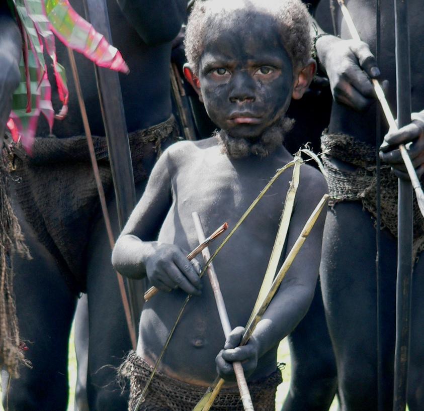 Papua New Guinea Goroka Show Simbai Tribe