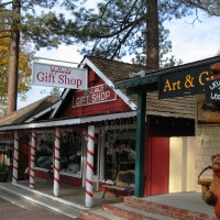 Downtown Idyllwild, California