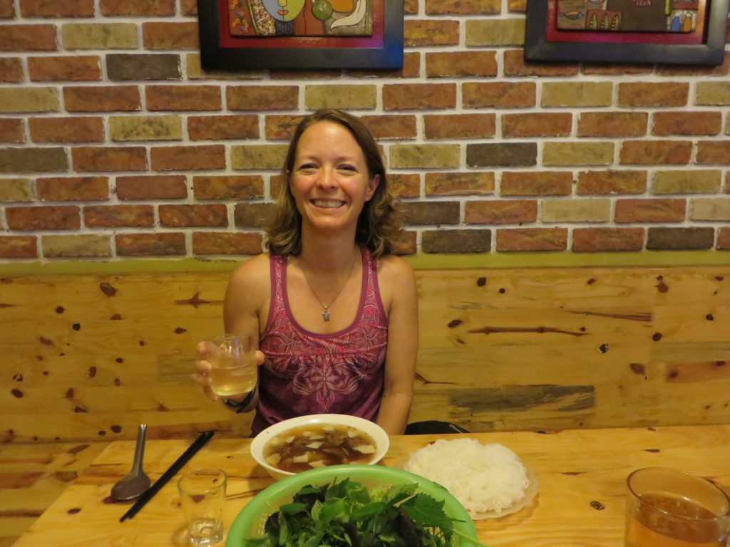Shani's favorite meal in Vietnam!