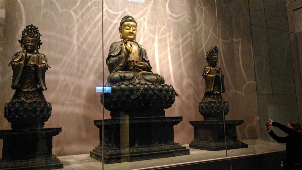 Shani capturing the Buddha!