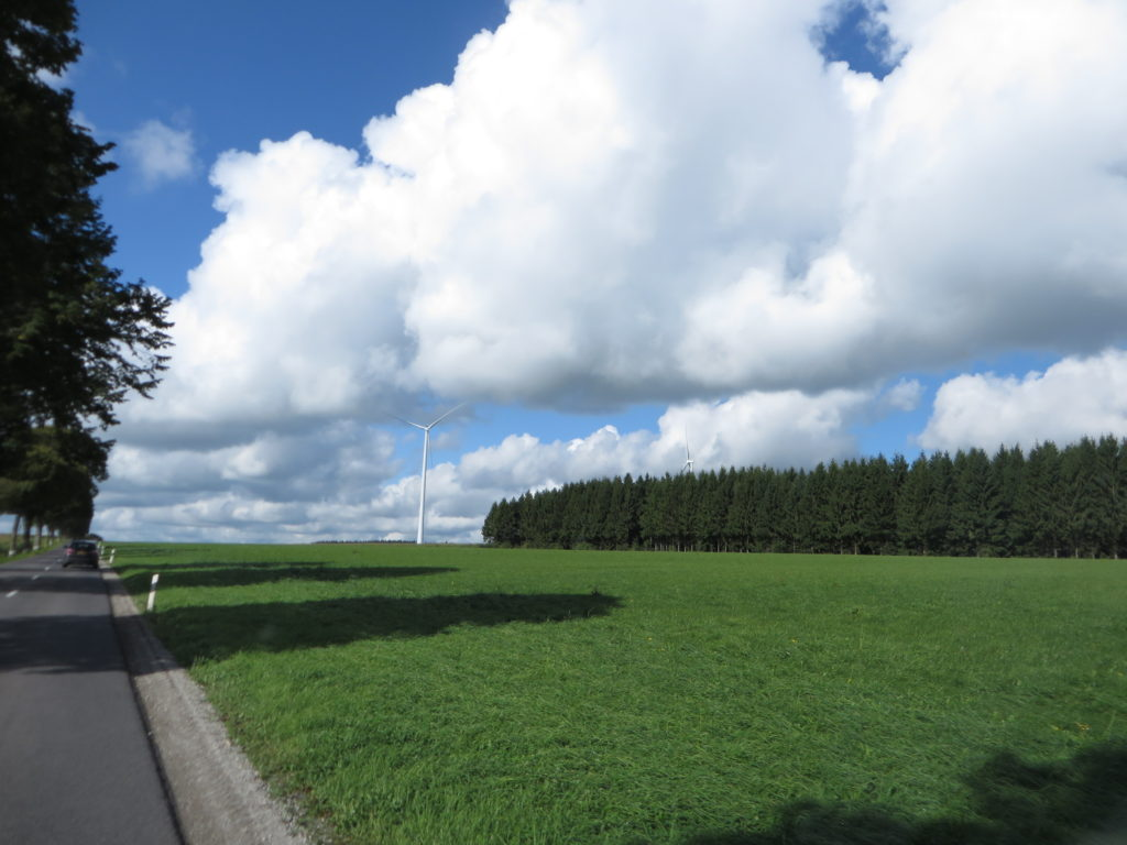 More beautiful countryside.