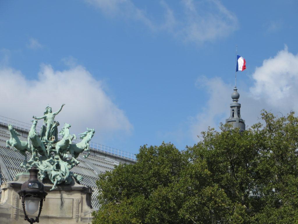 Paris at last!