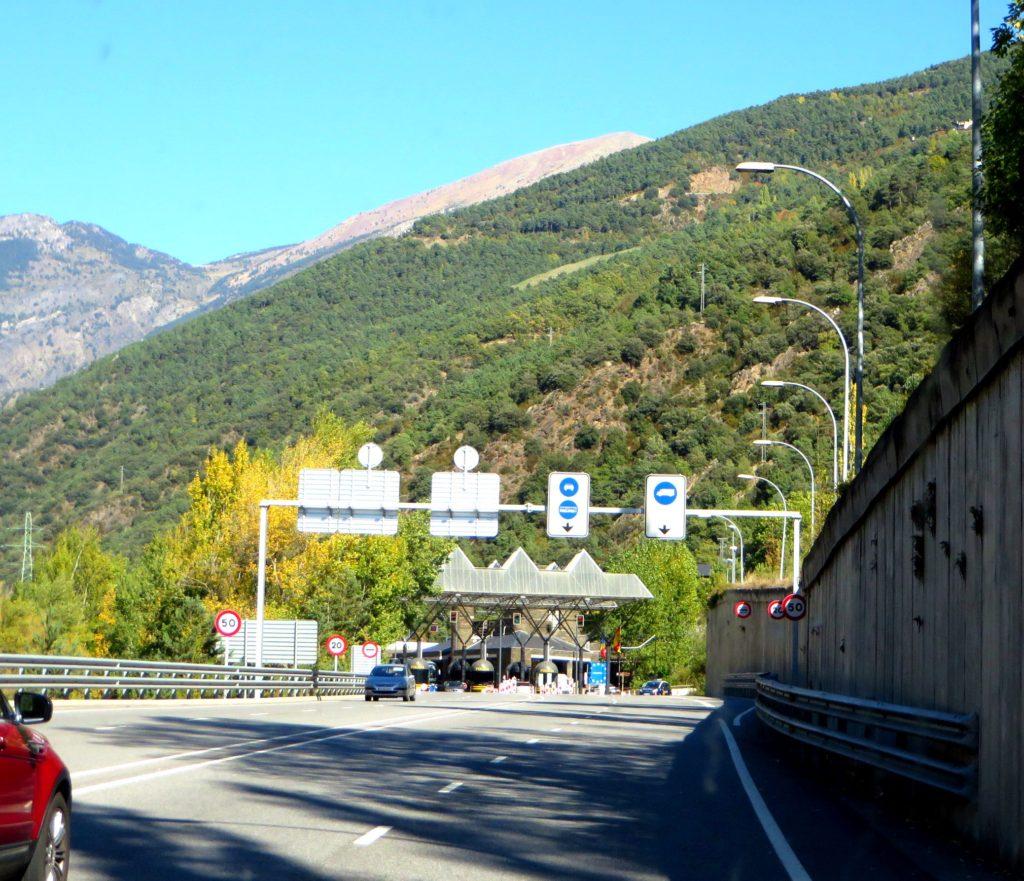 Entering Andorra.