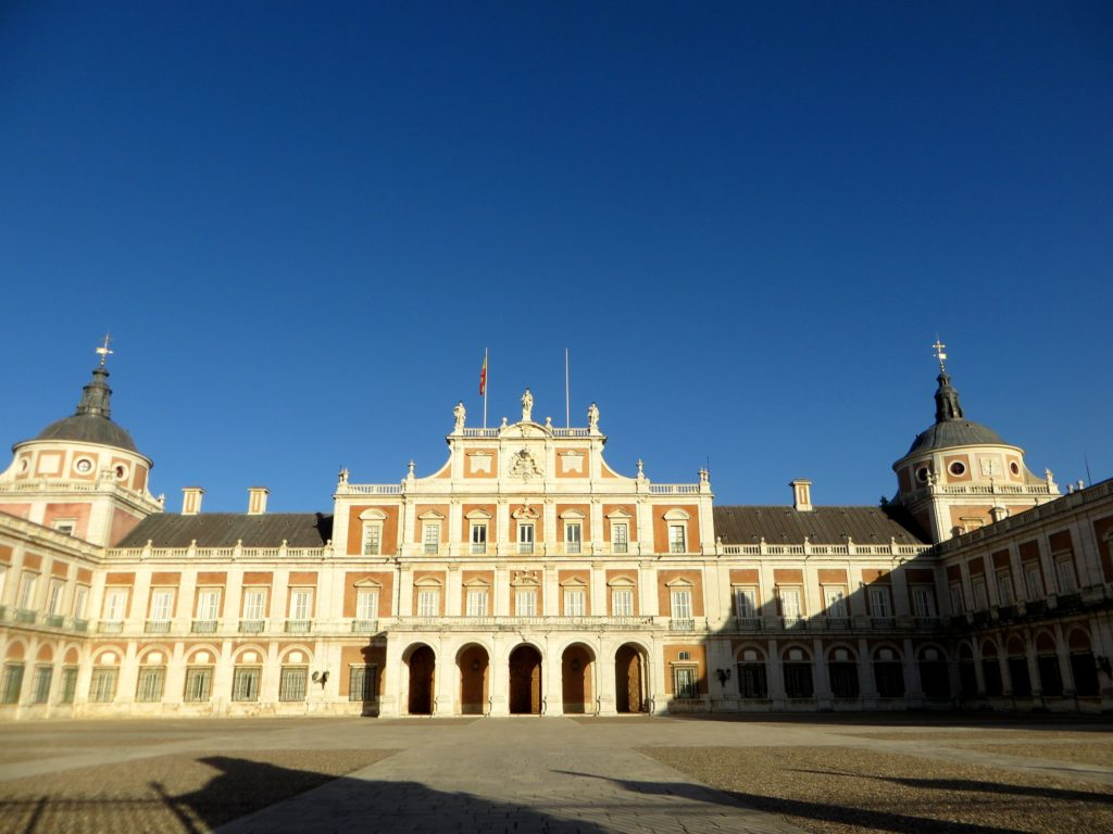The Spanish Royal Palace.