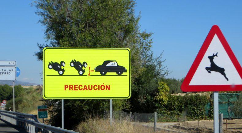 Beware - ninjas on motorbikes
