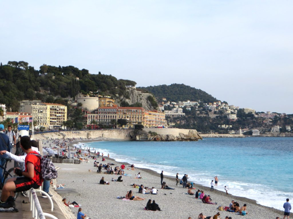 The water color was pretty amazing on the French Riviera.