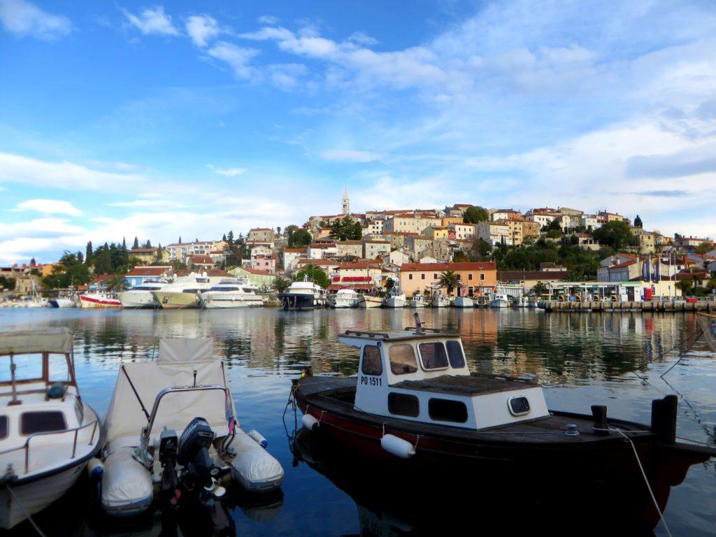 Quaint harbor of Vrsar.