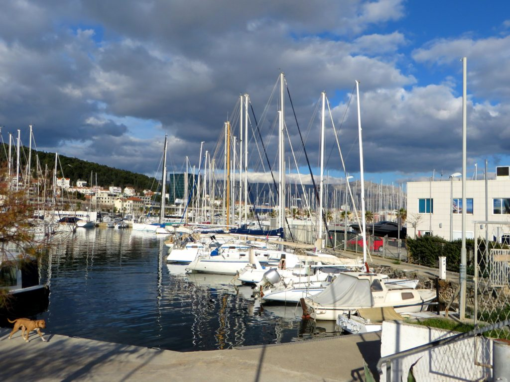 Split marina.
